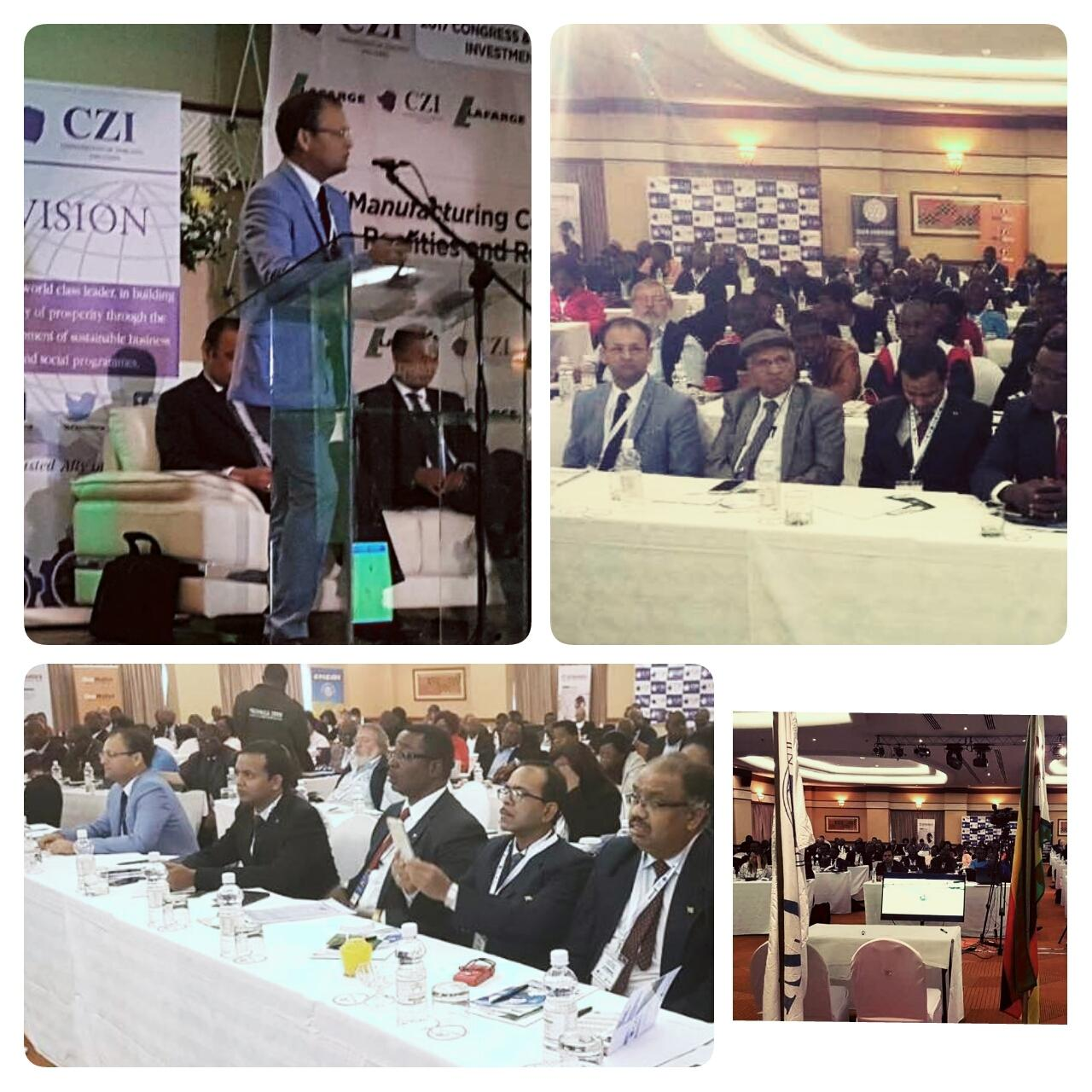 ACREATY Explores Business Opportunities between India & Zimbabwe (Africa)