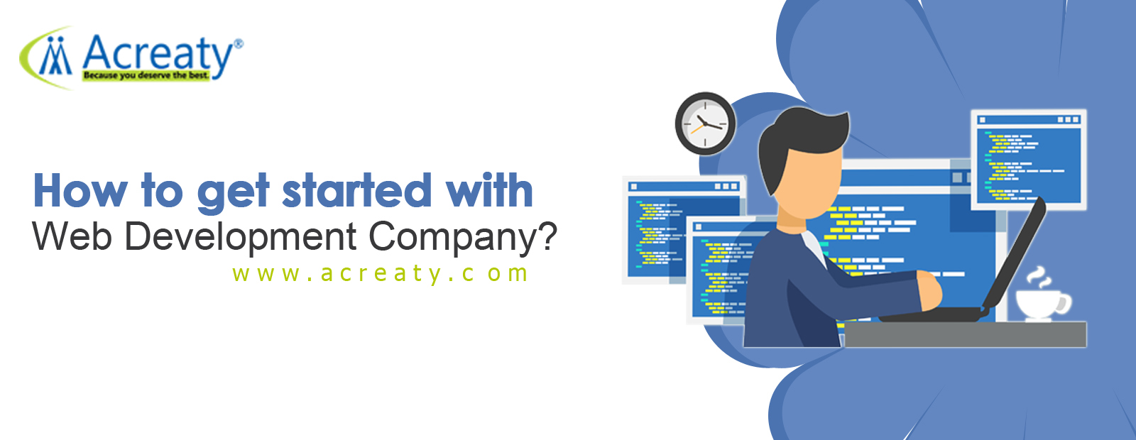 How to get started with web Development Company?
