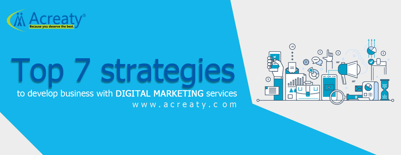 Top 7 strategies to develop business with digital marketing services