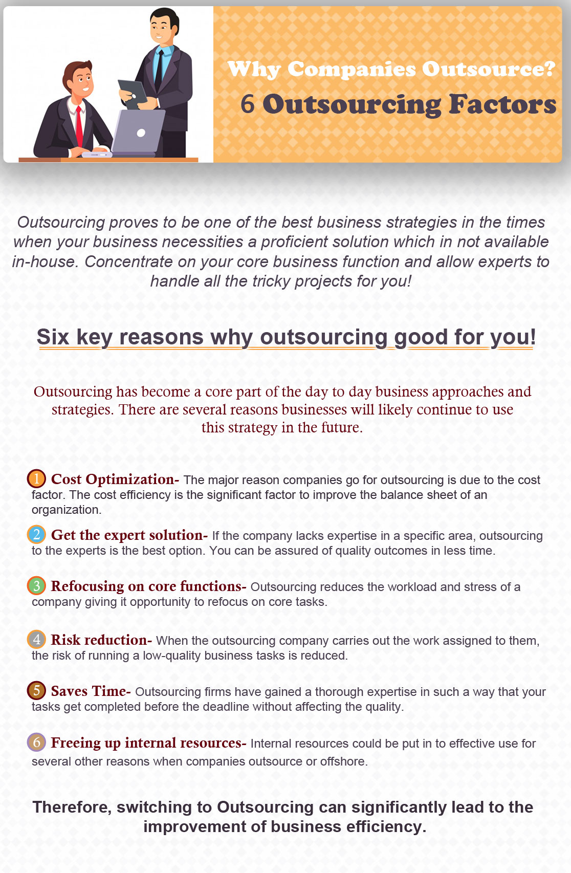 Outsourcing firms